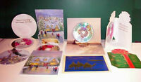 Lot Of 100 Greeting Cards With 10 Song Misprint Cd