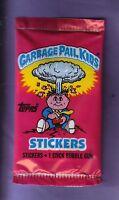 1985 Garbage Pail Kids Series 1 Uk Unopened Sticker Pack From Box