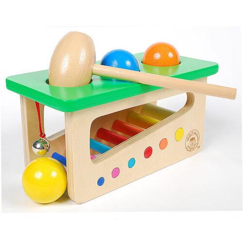 Holz Klopf Spielzeug Hammerspiel Schlagspiel Ausbildung Spielzeug für