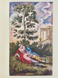 Jean Gervaise de Latouche Erotic Nude Rendez-Vous Barocco Parigi Petting Vagina
