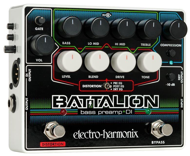 Electro-Harmonix Battalion Basso Preamplificatore & di Pedale
