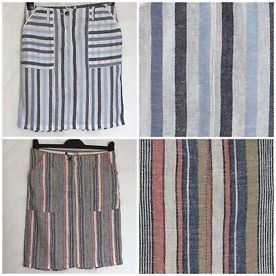 Next Neutral Linen Blend Sleeveless Midi Dress Sizes 8-26 Reg /& Tall n-82h