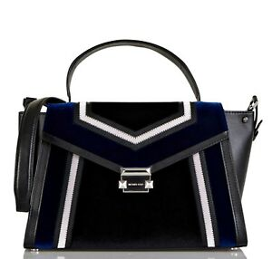 Details about Michael Kors Bag Whitney LG Satchel New 30f8sxls3c