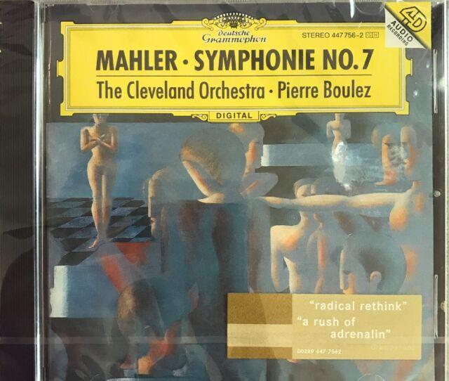 GUSTAV MAHLER-SINFONIE 7  (CD) 5 TRACKS ORCHESTERMUSIK NEW!