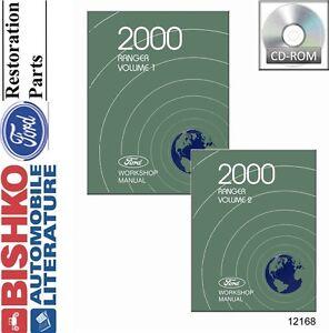 2000 ford ranger shop service repair manual cd ebay rh ebay co uk Ford Ranger Differential Repair chilton repair manual- 2000 ford ranger