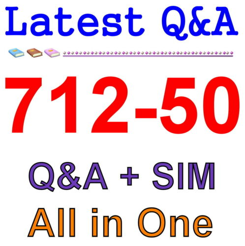 712-50 Exam Q/&A PDF+SIM CCISO EC-Council Certified CISO