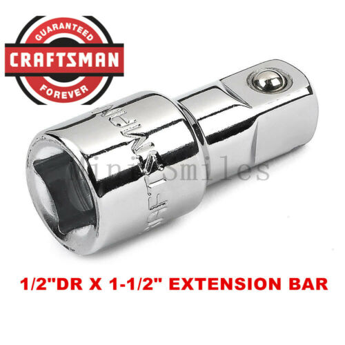"""Drive Socket Extension Bar NEW Craftsman 1//4/"""" 3//8/"""" 1//2/"""" in ANY SIZE Wobble"""