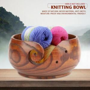 Multi-functional-Handcrafted-Classic-Wooden-Knitting-Yarn-Bowl-Ashtray-2-Sizes