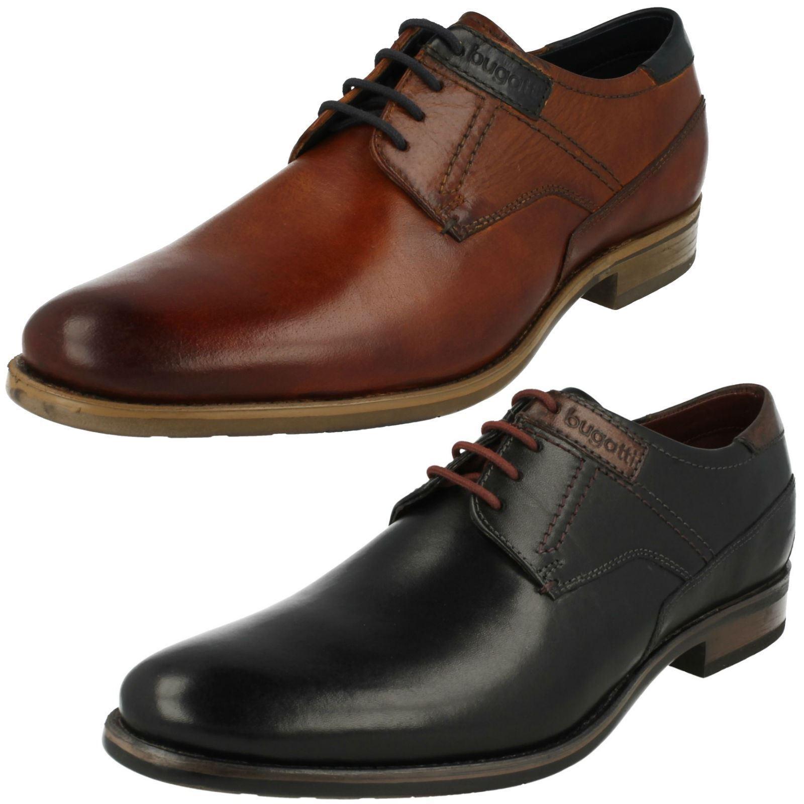 Hombre Bugatti Zapatos Formales Estilo 312-16302
