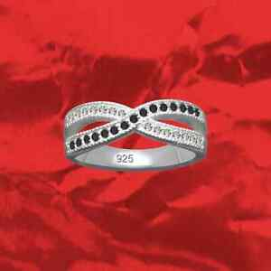 Ring-Infinity-Exclusive-real-925-Sterling-Silver-Crystal-cubic-zirconia-GB