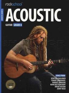 Agressif Rockschool Guitar Acoustique Grade 8 Tab Music Book With Audio Accès Tests Examens-afficher Le Titre D'origine Produits De Qualité Selon La Qualité