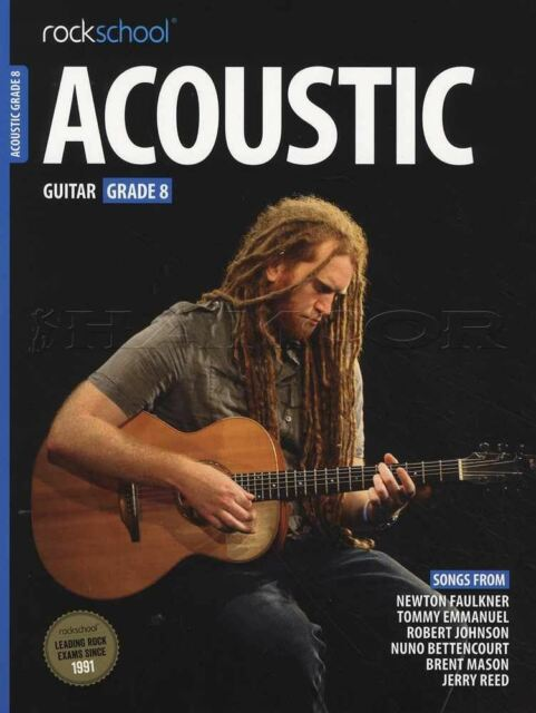 Rockschool Acoustic Guitar 2016 Grade 4 Online Instruction Books, Cds & Video