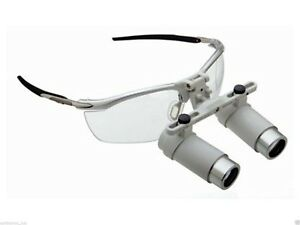 Heine-3-5x-Binocular-Loupe-I-View-type-with-Accessories-in-Case