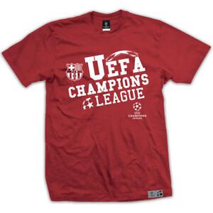 FC Barcelona T-Shirt UEFA Champions League, Herren, rot