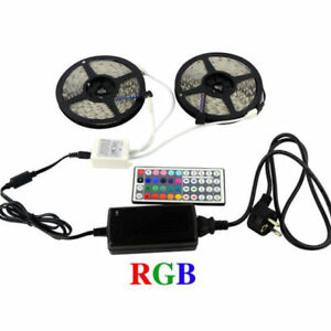 10M-5050-RGB-LED-Strip-with-44keys-IR-Remote-Controller-12V-8A-Power-Adapter
