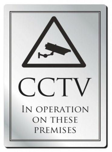 CCTV in Operation on this Premises Sign Pub Restaurant Shop Notice