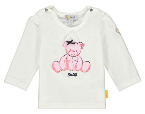 62-86 F//S 2020 NEU! STEIFF® Mädchen Langarmshirt Shirt Bär Gr