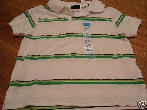 Boys The Childrens Place 6-9 mos Polo shirt NWT NEW months baby Children/'s