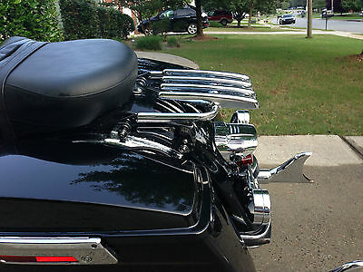 Style F TCMT 4 Point Docking Hardware Luggage Rack Fit For Harley Touring 09-13