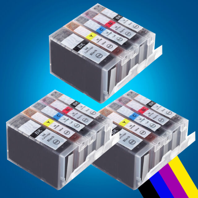 15 ink Cartridges for CANON MP950 MP960 MP970 MX850 MP520 ix4000 ix5000 MP510 2
