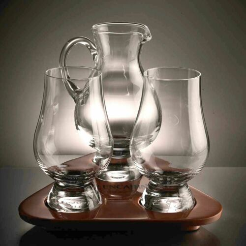 Glencairn Crystal officiel Whisky Whiskey Verres dégustation Lacet ensembles cadeaux