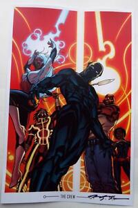 ECCC-2017-BLACK-PANTHER-Lithograph-SIGNED-by-BRIAN-STELFREEZE