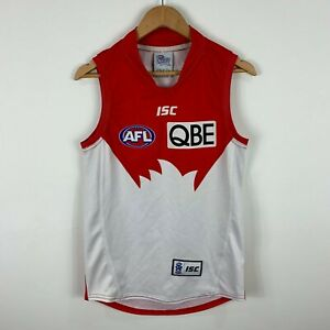 Sydney-Swams-AFL-Jersey-Mens-Size-Medium-Slim-Fit-Sleeveless-ISC
