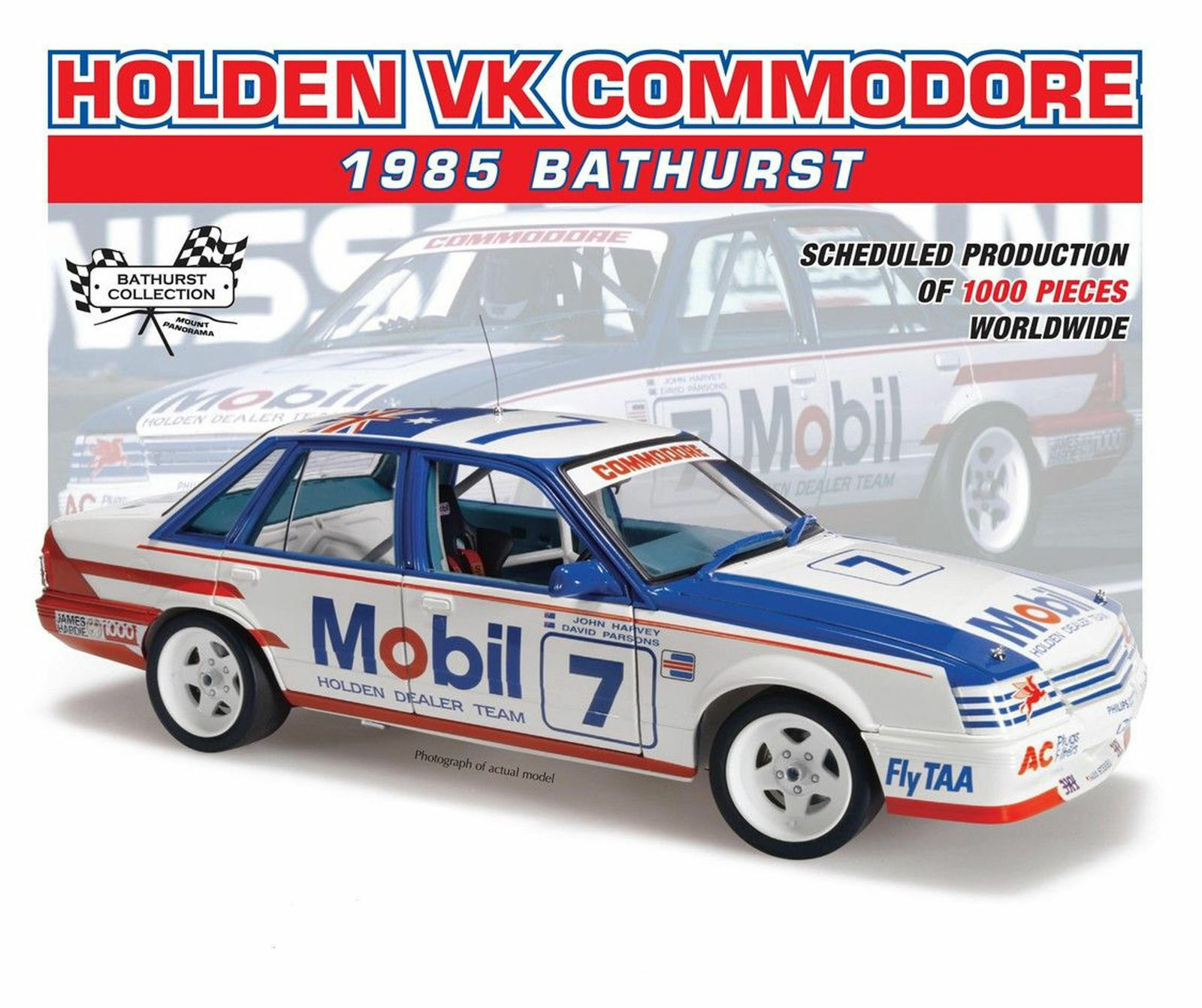New Classic Carlectables 1 18 Holden VK Commodore 1985 Bathurst Harvey Parsons