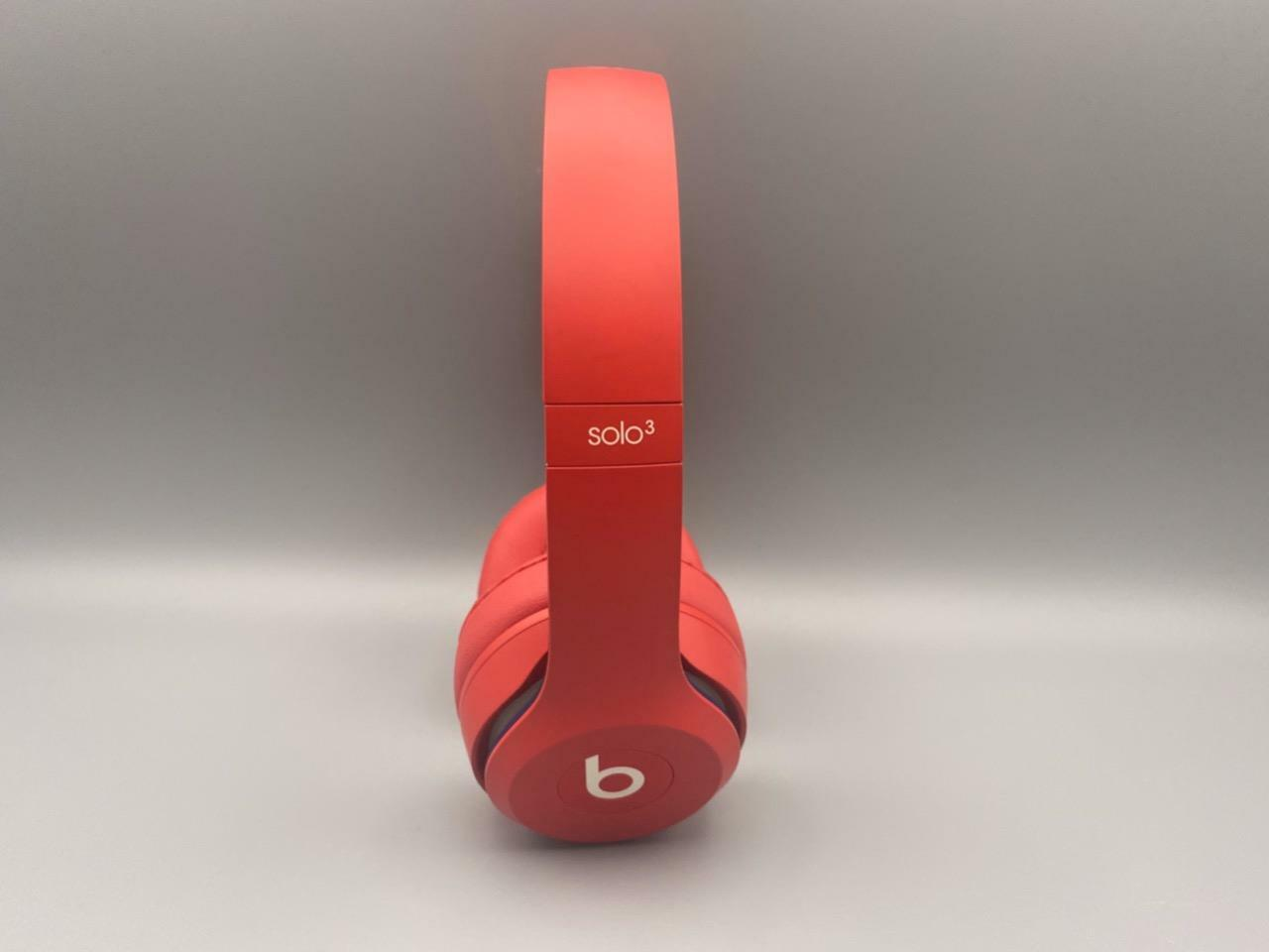 Beats By Dre Beats Solo 3 Wireless On Ear Headphone Red Club B4 Does Not Apply For Sale Online