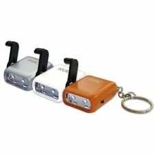 RAC Wind up torch LED lamp keyring worlds smallest torch
