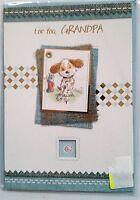 B2)lot De 10 Cartes For You, Grandpa+ Enveloppe, The Message Inside This Card