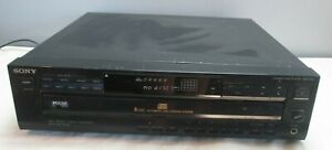Sony-5-CD-Compact-Disc-Multi-Player-Carousel-Changer-Home-Stereo-Audio-CDP-C425