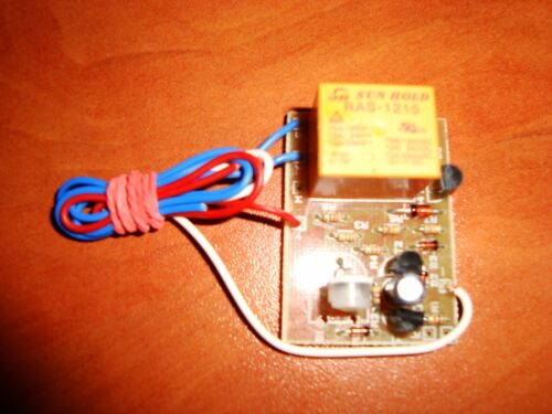 DELAY OFF TIMER WITH ON BUTTON SWITCH TIME RELAY 1 TO 40 SEC KIT 10A 12V