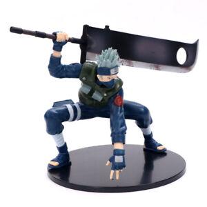 Sharingan Hatake Kakashi w/Seversword Naruto Action Figures Statue Toy Gift