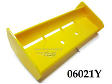 06021Y RICAMBIO ALETTONE GIALLO OFF ROAD BUGGY 1/10 1 PEZZO TAIL WING HIMOTO
