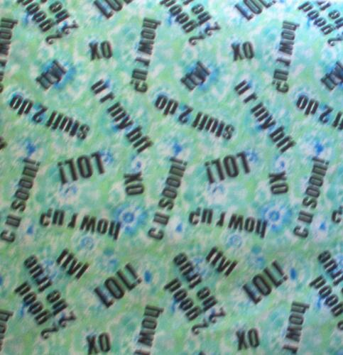 COTTON QUILT FABRIC CRANSTON VIP ANYTHING GOES TIE DYE TEXTING PER YARD P0600612