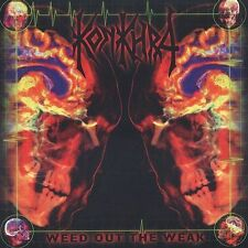 Weed Out the Weak Konkhra CD 2003 Diehard Denmark SHIPS FROM FREE USA SHIPPING