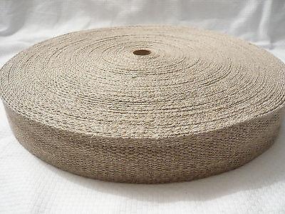 Bänder 25mm breit 25m lang GELB Dicke 1,3mm Gurtband