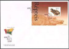 Guinea Bissau 2002 Reptiles/Crocodiles/Animals/Nature/Wildlife 1v m/s FDC s3303