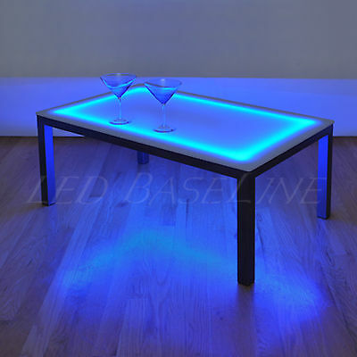 16 Lighted Bar Coffee Table Modern Color Changing 852660504950 Ebay