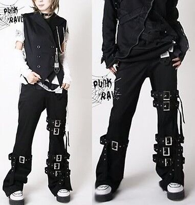 Unisex Kera  japan PUNK MUMMY Bondage PANTS K016 LONG