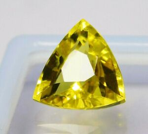 Natural-CERTIFIED-Trillion-Cut-7-Ct-Yellow-Sapphire-Loose-Gemstone