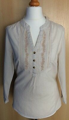 BNWT  WOMENS STRIPE DAY SHIRT FROM F&F SIZE 12
