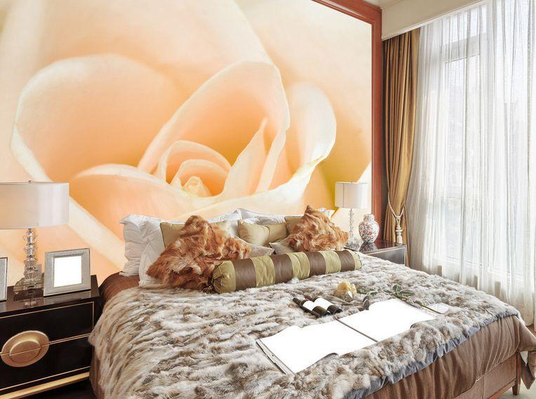 3D Rose fresche 3 Parete Murale Carta da parati immagine sfondo muro stampa