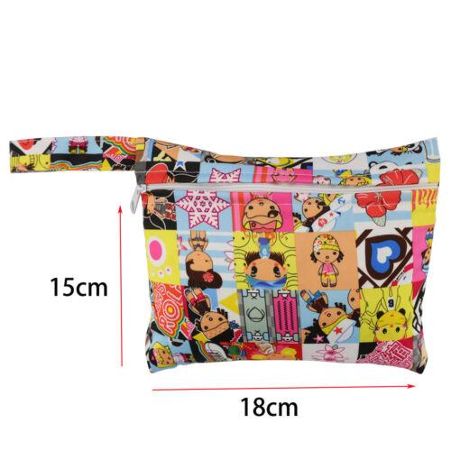 Mini Nursing Wet Bag Waterproof Reusable for Mama Cloth Menstrual Pads  UK