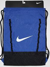 Nike Brasilia 7 Gymsack Backpack Royal Blue & Black BA5079-400 New Authentic NWT