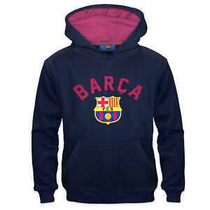 0a9494d1f Image is loading FC-Barcelona-Official-Football-Gift-Boys-Graphic-Fleece-
