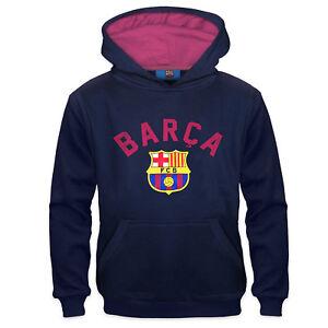 87fa97e0d Image is loading FC-Barcelona-Official-Football-Gift-Boys-Graphic-Fleece-