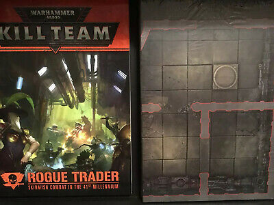 Warhammer 40k Kill Team Rogue Trader Scenery AND GAME BOARD New On Sprue