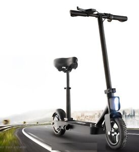 Besintu-Luxury-Folding-Electric-E-Scooter-with-Seat-and-Shocks-H1-Series